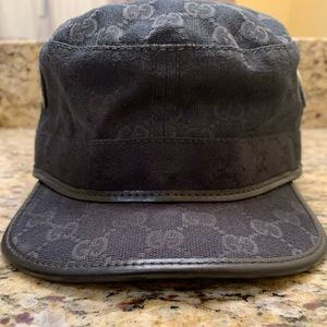 Gucci Accessories - AUTHENTIC!! GUCCI MILITARY HAT (USED)